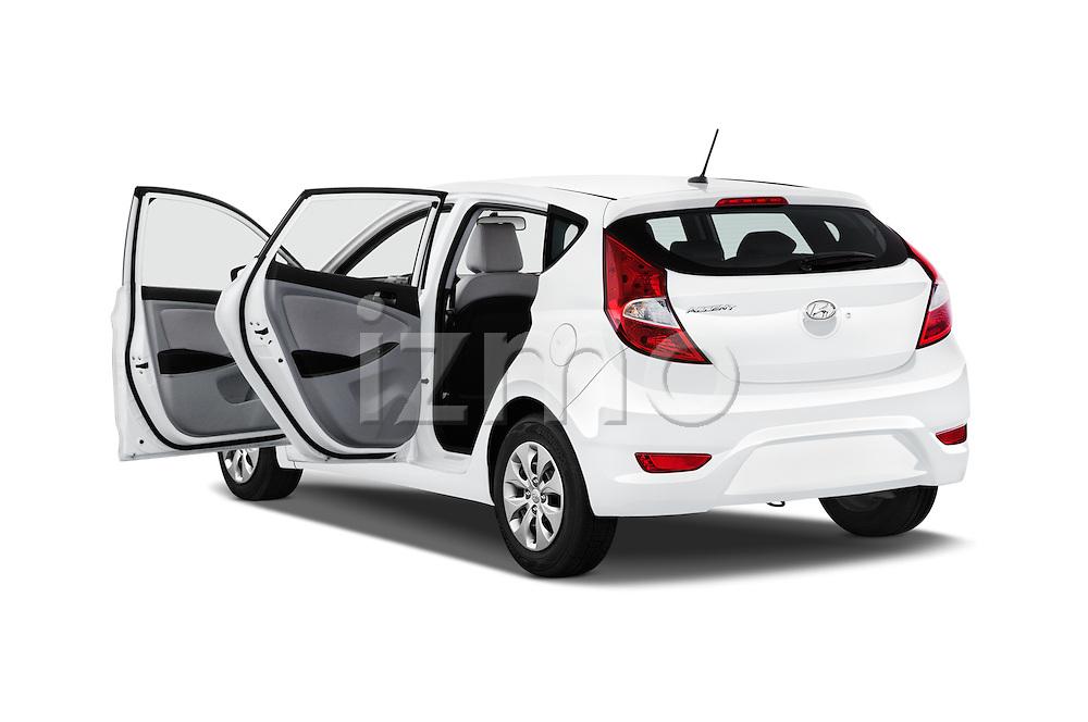 Car images of 2017 Hyundai Accent SE 6-Speed Automatic 5 Door Hatchback Doors