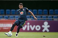10th November 2020; Granja Comary, Teresopolis, Rio de Janeiro, Brazil; Qatar 2022 qualifiers; Thiago Silva of Brazil during training session in Granja Comary