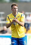 Forfar v St Johnstone….27.07.19      Station Park     Betfred Cup       <br />David McMillan tries to get a a response from his team mates<br />Picture by Graeme Hart. <br />Copyright Perthshire Picture Agency<br />Tel: 01738 623350  Mobile: 07990 594431