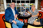 David and Mary Doyle from Gallowsfield, Tralee, celebrating their 38th wedding anniversary in the Brogue Inn on Saturday evening.