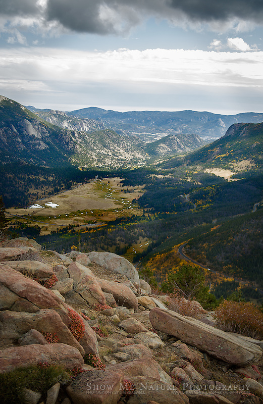 View of Horeshoe Bend from Trail Ridge Road