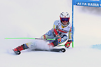 20th December 2020; Alta Badia, South-Tyrol, Italy; International Ski Federation World Cup Alpine Skiing, Giant Slalom; Lucas Braathen (NOR)