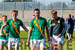 Robert Collins, Kilmoyley James Godley, Kilmoyley Kilmoyley players celebrate after winning the Kerry County Senior Hurling Championship Final match between Kilmoyley and Causeway at Austin Stack Park in Tralee