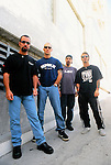 Various portrait sessions of the rock band, Godsmack.