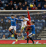 Wes Foderingham clears