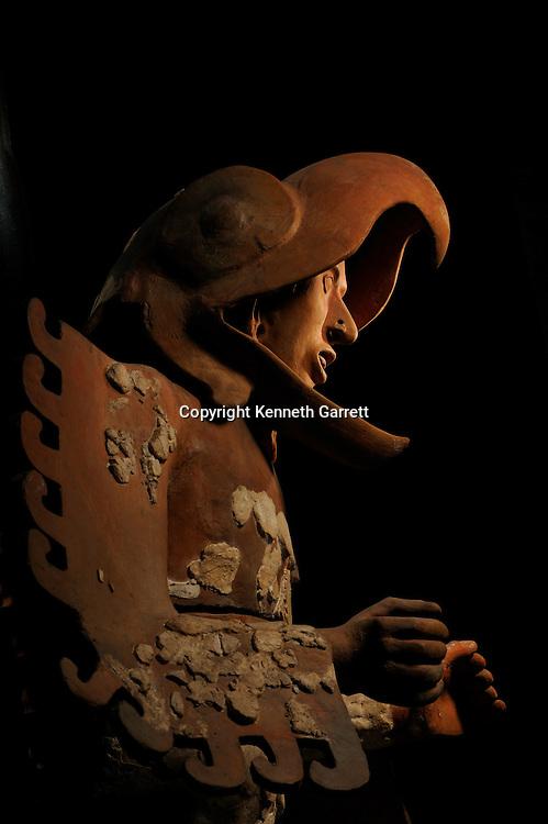 Greatest Aztecs, MM7677,  Mexico City, Mexico, NMAH,  Tenochtitlan, Aztec, Eagle Warrior, Templo Mayor Museum