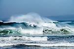 Big waves on the Coast of California