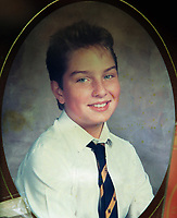 Pictured: Undated collect of Lee McCarley when he was 12 years old, the son of Billy and Kath McCarley who tragically died while delivering newspapers when he was 15  <br /> Re: Billy McCarley who has recovered from  leukemia but he has also been locked in a bitter dispute with his phone provider True Telecom which keeps chasing him for money they say he owes.