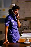 Staff nurse child childrens ward Alder Hey Hospital Manchester  NHS 1980s 1988 UK