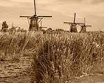 Netherlands windmills