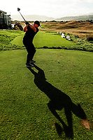 Darren Milburn. Day one of the Renaissance Brewing NZ Stroke Play Championship at Paraparaumu Beach Golf Club in Paraparaumu, New Zealand on Thursday, 18 March 2021. Photo: Dave Lintott / lintottphoto.co.nz
