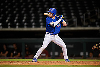 AZL Cubs 1 Ryan Reynolds (17) at bat during an Arizona League game against the AZL D-backs on July 25, 2019 at Sloan Park in Mesa, Arizona. The AZL D-backs defeated the AZL Cubs 1 3-2. (Zachary Lucy/Four Seam Images)
