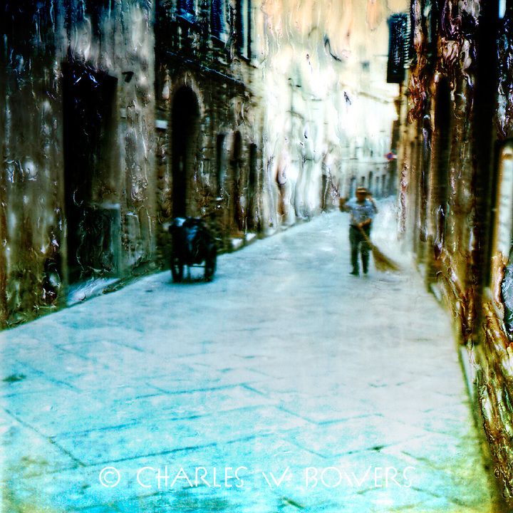 In a Tuscan village the streets are always clean. Tuscans are proud of their heritage.<br /> <br /> -Limited Edition of 50 Prints