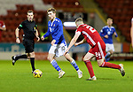Aberdeen v St Johnstone…26.12.20   Pittodrie      SPFL<br />David Wotherspoon and Dean Campbell<br />Picture by Graeme Hart.<br />Copyright Perthshire Picture Agency<br />Tel: 01738 623350  Mobile: 07990 594431