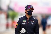 24th September 2021; Sochi, Russia; F1 Grand Prix of Russia free practise sessions;  11 Sergio Perez MEX, Red Bull Racing, F1 Grand Prix of Russia at Sochi Autodrom