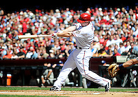 Apr. 5, 2010; Phoenix, AZ, USA; Arizona Diamondbacks shortstop Stephen Drew against the San Diego Padres during opening day at Chase Field. Mandatory Credit: Mark J. Rebilas-