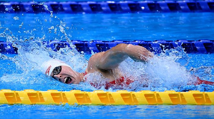 Abi Tripp, Tokyo 2020 - Para Swimming // Paranatation.<br /> Canada competes in the women's 4x100m Medley Relay // Le Canada participe au relais 4x100m quatre nages féminin. 09/2/2021.