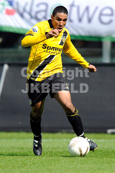 voetbal fc groningen - nac erediivisie seizoen 2007-2008 06-04-2008 .patrick mtiliga.fotograaf Jan Kanning
