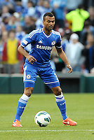 Ashley Cole (3) Chelsea in action..Manchester City defeated Chelsea 4-3 in an international friendly at Busch Stadium, St Louis, Missouri.