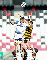 Tuesday 3rd March 2020 | RSA vs RBAI<br /> <br /> Lineout action during the Ulster Schools' Cup Semi-Final between Royal School Armagh and RBAI at Kingspan Stadium, Ravenhill Park, Belfast, Northern Ireland. Photo by John Dickson / DICKSONDIGITAL
