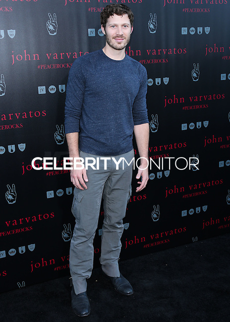 WEST HOLLYWOOD, CA, USA - SEPTEMBER 21: Zach Gilford arrives at the John Varvatos #PeaceRocks Ringo Starr Private Concert held at the John Varvatos Boutique on September 21, 2014 in West Hollywood, California, United States. (Photo by Xavier Collin/Celebrity Monitor)