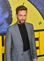 """LOS ANGELES, USA. October 15, 2019: Tom Mison at the premiere of HBO's """"Watchmen"""" at the Cinerama Dome, Hollywood.<br /> Picture: Paul Smith/Featureflash"""