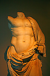 This Roman Sculpture can be found in the Archaeological Museum in Istanbul, Turkey.
