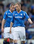 St Johnstone v Alashkert FC...09.07.15   UEFA Europa League Qualifier 2nd Leg<br /> Steven Anderson<br /> Picture by Graeme Hart.<br /> Copyright Perthshire Picture Agency<br /> Tel: 01738 623350  Mobile: 07990 594431