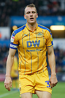 Dan Burn of Wigan Athletic in action during the Sky Bet Championship match between Swansea City and Wigan Athletic at the Liberty Stadium, Swansea, Wales, UK. Saturday 29 December 2018