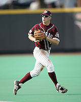 Texas A&M 2B Blake Stouffer against Texas on May 16th, 2008 in Austin Texas. Photo by Andrew Woolley / Four Seam images..