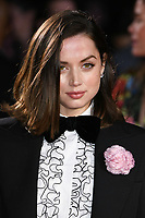 """Ana de Armas<br /> arriving for the """"Knives Out"""" screening as part of the London Film Festival 2019 at the Odeon Leicester Square, London<br /> <br /> ©Ash Knotek  D3524 08/10/2019"""