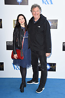 Sophie Ellis Bextor and Dad<br /> at the private view of The Pink Floyd Exhibition: Their Mortal Remains at the V&A Museum, London. <br /> <br /> <br /> ©Ash Knotek  D3264  09/05/2017