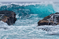 Large waves. Hawaii Island
