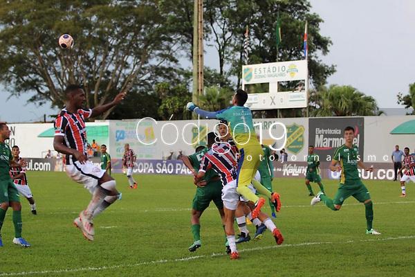 Jaú (SP), 09/01/2020 - Serra-Guarani - Partida entre Serra e Guarani válido pela  terceira rodada do Grupo 05 da Copa São Paulo de Futebol Junior no estádio Zezinho Magalhães em Jaú, nesta quinta-feira (09).