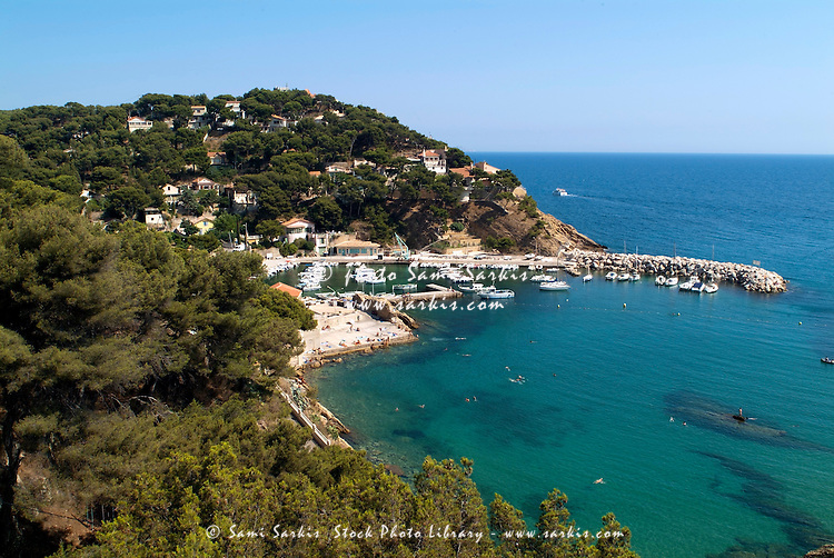 Port at Ensues-la-Redonne, Provence, France.