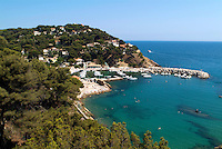 Port at Ensues-la-Redonne, Provence, France.
