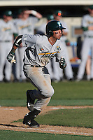 Stephen Alemais #2 of the Tulane Green Wave runs the bases during a game against the Pepperdine Waves at Eddy D. Field Stadium on March 13, 2015 in Malibu, California. Tulane defeated Pepperdine, 9-3. (Larry Goren/Four Seam Images)