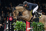 John Whitaker of United Kingdom riding Argento in action during the Longines Grand Prix as part of the Longines Hong Kong Masters on 15 February 2015, at the Asia World Expo, outskirts Hong Kong, China. Photo by Victor Fraile / Power Sport Images