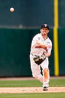 Texas Tech Red Raider shortstop Joey Kenworthy against TCU on Friday March 5th, 2100 at the Astros College Classic in Houston's Minute Maid Park.  (Photo by Andrew Woolley / Four Seam Images)