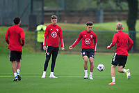 Ethan Ampadu of Wa;es in action during the Wales Training Session at The Vale Resort in Cardiff, Wales, UK. Monday 5 October 2020