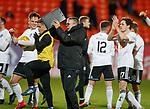 30.11.2018 Dundee Utd v Ayr Utd: Ian McCall at full time