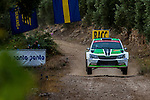 KOPECKY Jan / DRESLER Pavel ( SKODA Fabia R5) during the World Rally Car RACC Catalunya Costa Dourada 2016 / Rally Spain, in Catalunya, Spain. October 15, 2016. (ALTERPHOTOS/Rodrigo Jimenez)