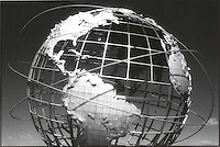 Unisphere showing the Americas<br />