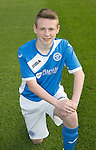 St Johnstone Academy Under 14's…2016-17<br />Logan Thoms<br />Picture by Graeme Hart.<br />Copyright Perthshire Picture Agency<br />Tel: 01738 623350  Mobile: 07990 594431