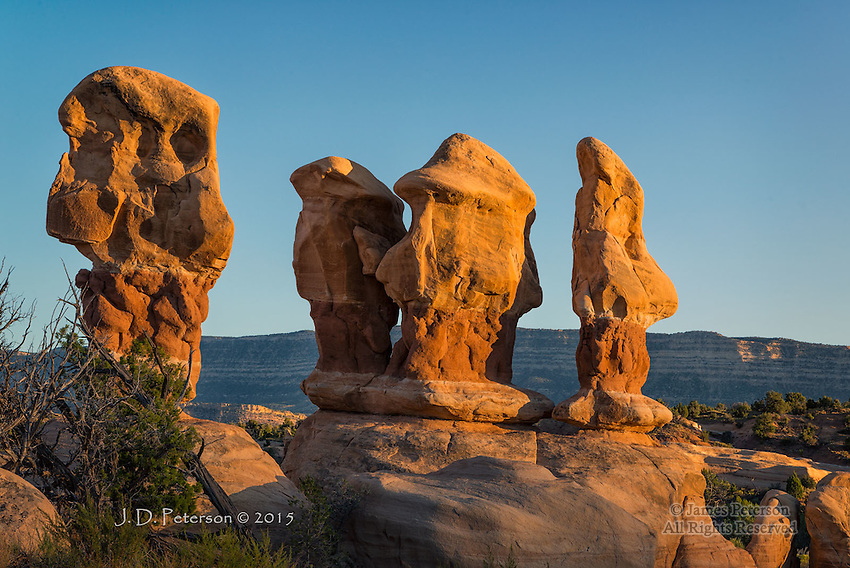 The Four Gossips of Devil's Garden, Utah