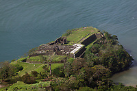 aerial photograph of Fort San Lorenzo, Colón, Panama | fotografía aérea del Fuerte San Lorenzo, Colón, Panamá