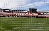 BOGOTA - COLOMBIA, 27-12-2020: Independiente Santa Fe y América de Cali en partido por la final vuelta como parte de la Liga BetPlay DIMAYOR 2020 jugado en el estadio Nemesio Camacho El Campín de la ciudad de Bogotá. / Independiente Santa Fe and America de Cali in second leg final match for the date 10 as part of BetPlay DIMAYOR League 2020 played at Nemesio Camacho El Campín stadium in Bogota city. Photo: VizzorImage / Samuel Norato / Cont