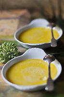 Europe/France/Poitou-Charentes/79/Deux-Sèvres/Marais Poitevin/Coulon: La crème brulée à l'angélique recette de Jean-Paul Guenanten Restaurant: Le Central
