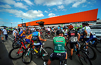 The opening ceremony of the NZ Cycle Classic UCI Oceania Tour at Mitre 10 Mega in Masterton, New Zealand on Tuesday, 16 January 2018. Photo: Dave Lintott / lintottphoto.co.nz