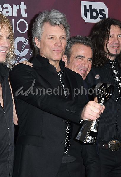 11 March 2018 - Inglewood, California - Jon Bon Jovi. 2018 iHeart Radio Awards - Press Room held at The Forum. Photo Credit: Birdie Thompson/AdMedia